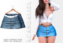 Scandalize. Zarihas SKIRT JEANS.21