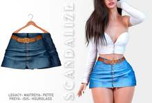 Scandalize. Zarihas SKIRT JEANS.20