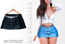 Scandalize. Zarihas SKIRT JEANS.19