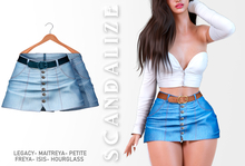 Scandalize. Zarihas SKIRT JEANS.17