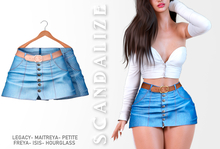 Scandalize. Zarihas SKIRT JEANS.16