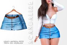Scandalize. Zarihas SKIRT JEANS.15
