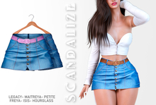 Scandalize. Zarihas SKIRT JEANS.13