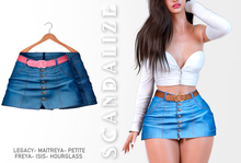 Scandalize. Zarihas SKIRT JEANS.12