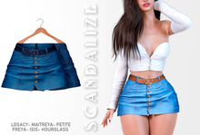 Scandalize. Zarihas SKIRT JEANS.11