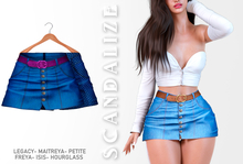Scandalize. Zarihas SKIRT JEANS.10