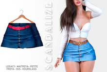 Scandalize. Zarihas SKIRT JEANS.9