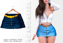 Scandalize. Zarihas SKIRT JEANS.8