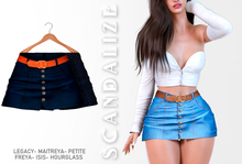 Scandalize. Zarihas SKIRT JEANS.7