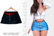 Scandalize. Zarihas SKIRT JEANS.6