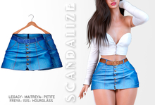 Scandalize. Zarihas SKIRT JEANS.2