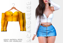 Scandalize. Zarihas TOP. Yellow