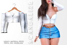 Scandalize. Zarihas TOP. White