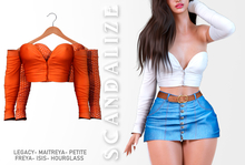 Scandalize. Zarihas TOP. Orange