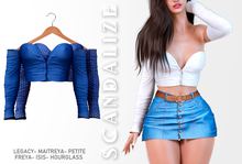 Scandalize. Zarihas TOP. Blue