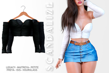 Scandalize. Zarihas TOP. Black