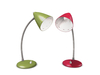 Dutchie two retro color changeable bedside or desk lamps