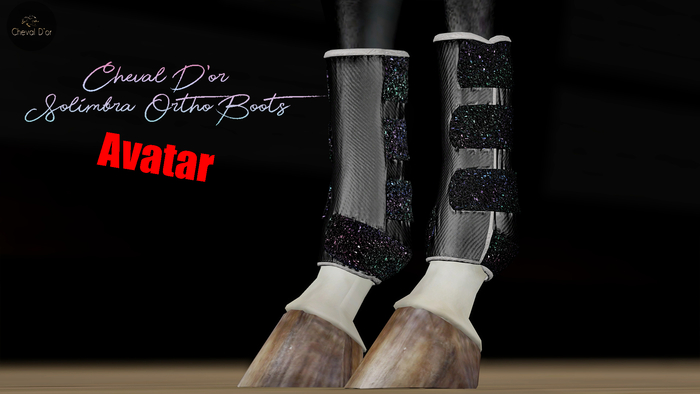 Cheval D'or / Teegle Avatar / Solimbra Glittery Boots.