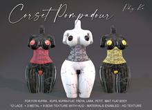 -[ Phy.Ka ]- 002 - Corset Pompadour -  Lace - Unpack HUD