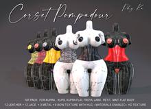 -[ Phy.Ka ] - Corset Pompadour - Fat Pack - Unpack HUD