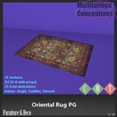 [MC] Oriental Rug PG (wear to unpack)