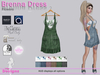 Brenna Dress With Hud Flowers