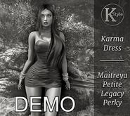 [K-Style] KARMA DRESS -DEMO