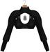 JF Design - Stella Cropped Top - Black