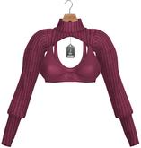 JF Design - Stella Cropped Top - Fuchsia