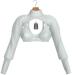 JF Design - Stella Cropped Top - White
