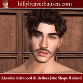 Akeruka Advanced M01 & Belleza Jake Shape Rickard