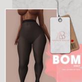 [AB] BOM Shady Stockings Black