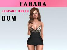 [FAHARA] Dress Leopard BOM