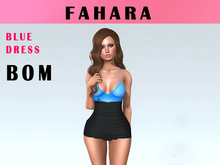 [FAHARA] Dress Blue