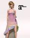 XK Maitreya Flirty Frills Gown Pixie