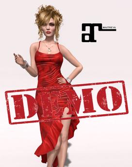 DEMO XK Maitreya Flirty Frills Gown