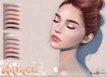 WarPaint* Anthea brows - Lelutka Evo/EvoX [naturals] - HD Appliers + BoM