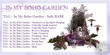 TLG - In My Boho Garden - Pendulum Clock