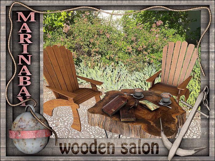 wooden salon