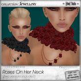 [ glow ] studio Roses on her neck R&B