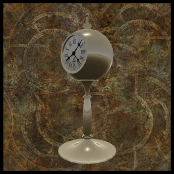 EF-Home: 2020 Christmas Clock - Brass