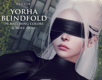 ALTAIR* yorha type 2 blindfold & mole