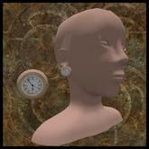 EF-Jewellery: Clock Ear Plug