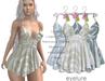 Eyelure Ruffle Halter Dress - 3 Pack  ZEBRA Dresses