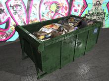 Garbage Dumpster - Mesh - 2 Prim each