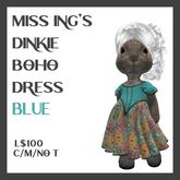 Miss Ing's Dinkie Circular Dress Set Boho Blue
