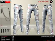 A&D Clothing - Pants -Wyatt- Ivory
