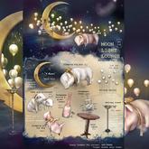{anc} MoonLightLounge. sleeping big pig 3Li RARE