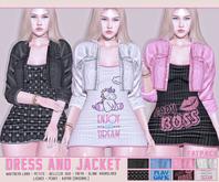 DM:: Dress And Jacket  Dream - [ HUD ]