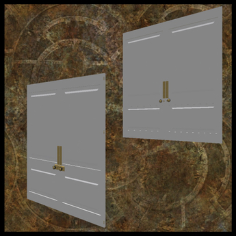 EF-Architecture: 1.5x3.5m Panel Doors